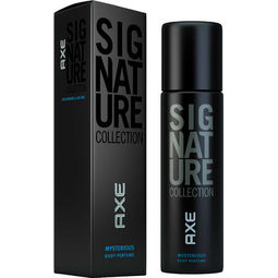 Axe Signature Mysterious Body Perfume, Men, 122ml