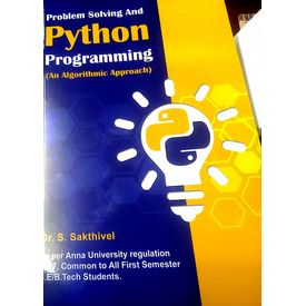 Problem Solving and Python Progrmming ( An Algorithmic Approch)
