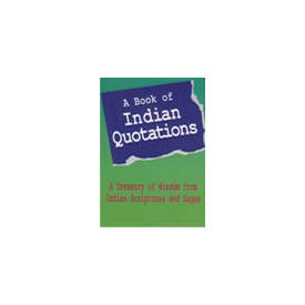 Book of Indian Quotations, A