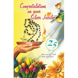 Congratulations on Your Silver Jubilee 2