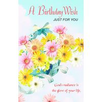 A Birthday Wish just for you