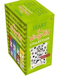 Wimpy kid box set: 8 titles