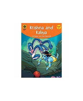 Krishna and Kaliya & Rama and the Squirrel