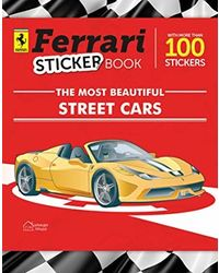 Ferrari street car sticker- pas