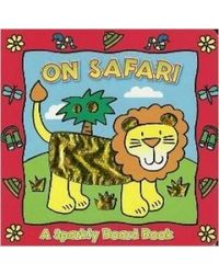 A sparkly board book on safari