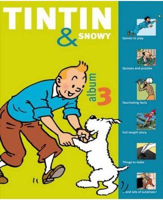 Tintin & snowy 3