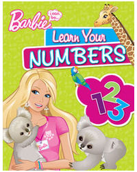 Barbie learn your numbers