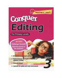 Sap Conquer Editing For Primary Levels Workbook 3