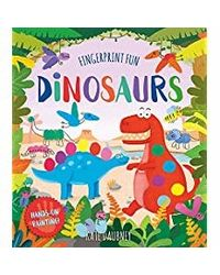 Fingerprint Fun: Dinosaurs