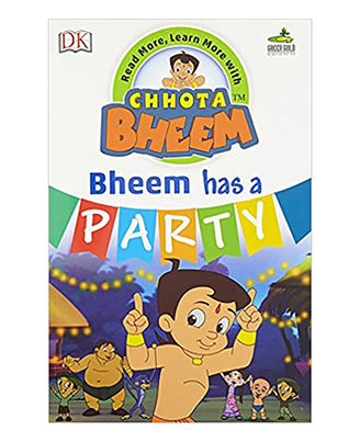 Chhota Bheem- Bheem Has A Party: Read More, Learn More With Chhota Bheem
