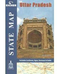State map- uttar pradesh