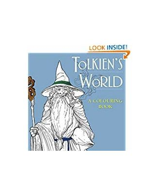 Tolkien S World: A Colouring Book