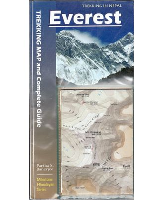 Everest Trekking Maps and Complete Guide (Milestone Himalayan Series)