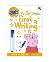 Peppa Pig: Practise With Peppa: Wipe- Clean First Writing