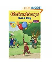 Curious George Race Day (Green Light Reader, Level 1: Curious George)