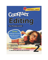 Sap Conquer Editing For Primary Levels Workbook 2