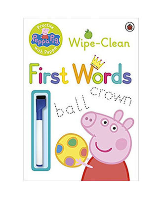Peppa Pig: Practise With Peppa: Wipe- Clean First Words