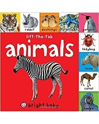Bright Baby Lift- The- Tab: Animals