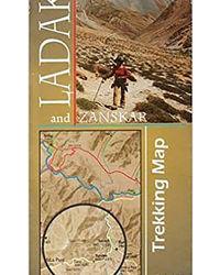 Ladakh & Zanskar- Trekking Map