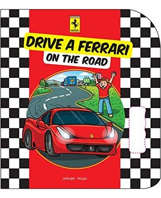 Drive ferrari on the road- pas