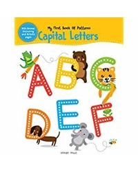 My First Book of Patterns Capital Letters: Write and Practice Patterns and Capital Letters A to Z