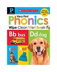 Wipe Clean Workbook: Pre- K My Very First Phonics (Scholastic Early Learners) (Scholastic Early Learners