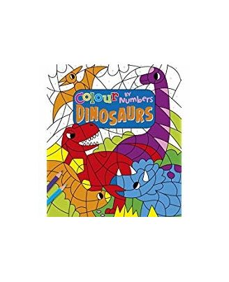 Colour By Numbers: Dinosaurs