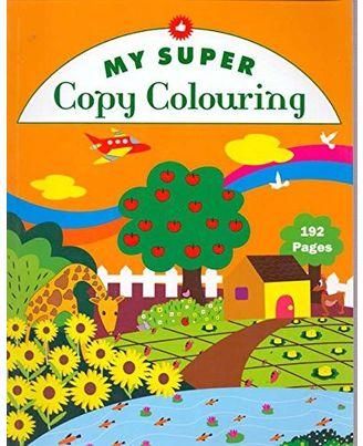 My super copy colouring