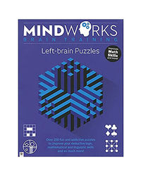 Mindworks Brain Training Left- Brain Puzzles