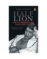Half- lion: how p v narasimha r