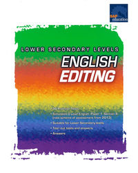 Lower Secondary Levels English Editing (Sap)