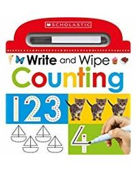 Scholastic Early Learners: Write and Wipe Early Math: 3