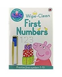 Peppa pig: wipeclean numbers