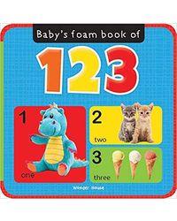 Babys Foam Book Of 123