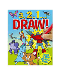 3 2 1 Learn To Draw In Simple Steps