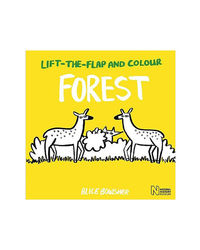 Lift- The- Flap And Colour: Forest