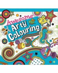 Awesome Arty Colouring
