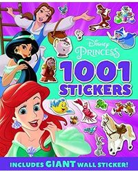 PRINCESS: 1001 Stickers (1001 Stickers Disney)