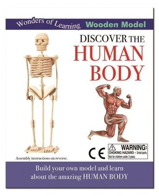 Discover The Human Body- Educational Box Set (Wonder of Learning