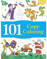 101 Copy Coloring: Fun Activity Book For Children