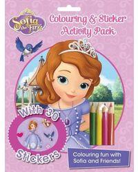 Disney Sofia the First Colouring and STI