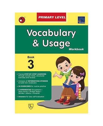 Sap Vocabulary & Usage Workbook Primary Level 3