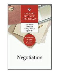 Negotiation (Harvard Business Essentials Series)