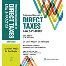 Professional Approach to Direct Taxes Law & Practice, 35E