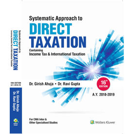 Systematic Approach to Direct Taxation, 16e