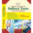 Padhuka's Students' Referencer on Indirect Taxes (CA Final) , 10e (May 2015 & Nov 2015)
