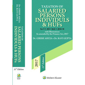 Taxation of Salaried persons, Individuals & HUFs, 13E