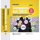 Companies Act, 2013- An integrated section- wise approach with Rules, Forms, Comparative Analysis and Ready Referencer (2 Volumes) , 2E