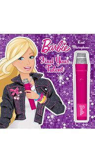 Barbie Book With Microphone