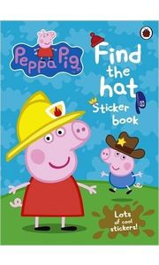 Peppa Pig: Find- the- hat Sticker Book